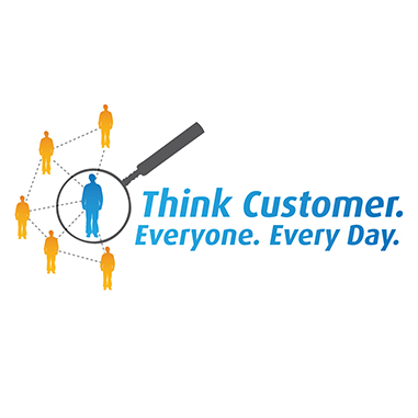 Logo - Think Customer, Everyone, Every Day