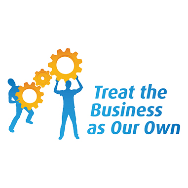 Logo - Tread the Business as Our Own
