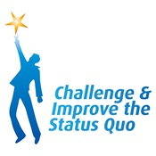 Logo - Challenge & Improve the Status Quo