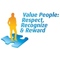 Logo - Value People, Respect, Recognize & Reward