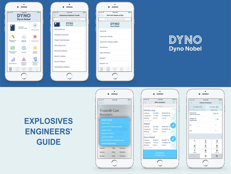 Explosive Engineer's Mobile App Image